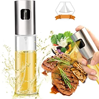 Sponsored Ad - Olive Oil Sprayer Dispenser for Cooking, Food-Grade Glass Oil Spray Bottle Oil Dispenser,Olive Oil Sprayer ...