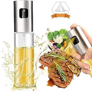 Olive Oil Sprayer Dispenser for Cooking, Food-Grade Glass Oil Spray Bottle Oil Dispenser,Olive Oil Sprayer for BBQ/Making ...