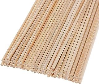 Houten deuvelstaven, 30 stuks houten stokken voor ambachtelijke projecten en kunstwerk (5mm* 20cm)
