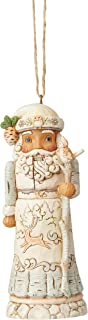 Enesco Jim Shore Heartwood Creek White Woodland Nutcracker Ornament