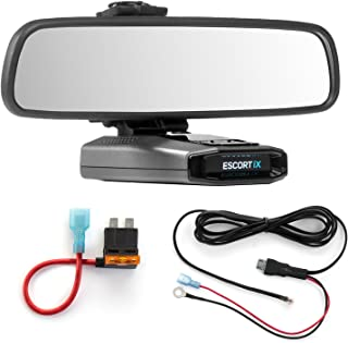 Radar Mount Mirror Mount + Direct Wire Power Cord + ATO Fuse Tap Escort IX EX Max360C (3001307)