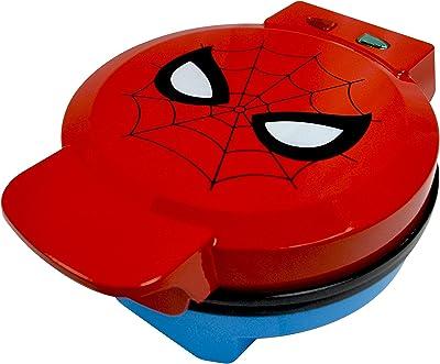 Wafflera del Hombre Araña de Marvel – Sus Waffles con la Máscara del Hombre Araña – Plancha de Acero