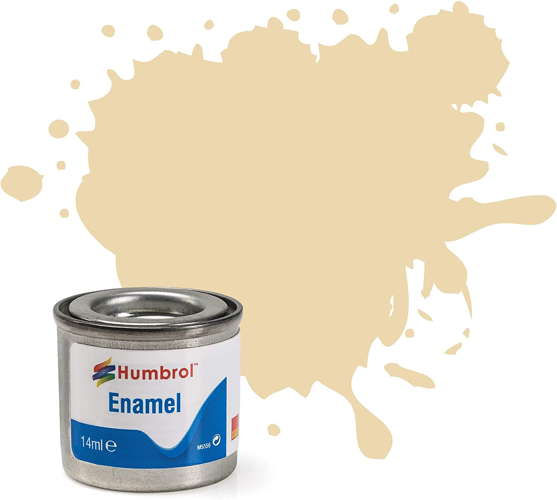 Humbrol 14ml No. 1 Tinlet Genuine Free Super-cheap Shipping 71 Satin Paint Enamel Oak