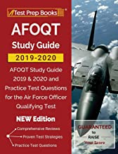 AFOQT Study Guide 2019-2020: AFOQT Study Guide 2019 & 2020 and Practice Test Questions for the Air Force Officer Qualifying Test [NEW Edition]