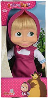Masha And The Bear 23Cm Soft Bodied Doll