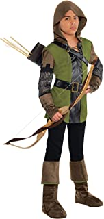Prince of Thieves Robin Hood Halloween Costume for Boys with Included Accessories