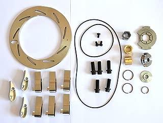 Abcturbo Turbocharger turbo GT37VA GT3782VA Unison Ring Nozzle Ring + 9 Vanes + Repair kit Rebuild kit for Ford Powerstroke 6.0L 239KW Engine Navistar