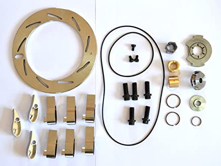 Abcturbo Turbocharger turbo GT37VA GT3782VA Unison Ring Nozzle Ring + 9 Vanes + Repair kit Rebuild