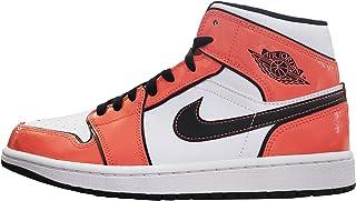 Air Jordan 1 Mid Turf Orange/Black White DD6834-802 Men's