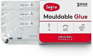 Sugru Mouldable Glue - Original Formula - White (3-Pack)