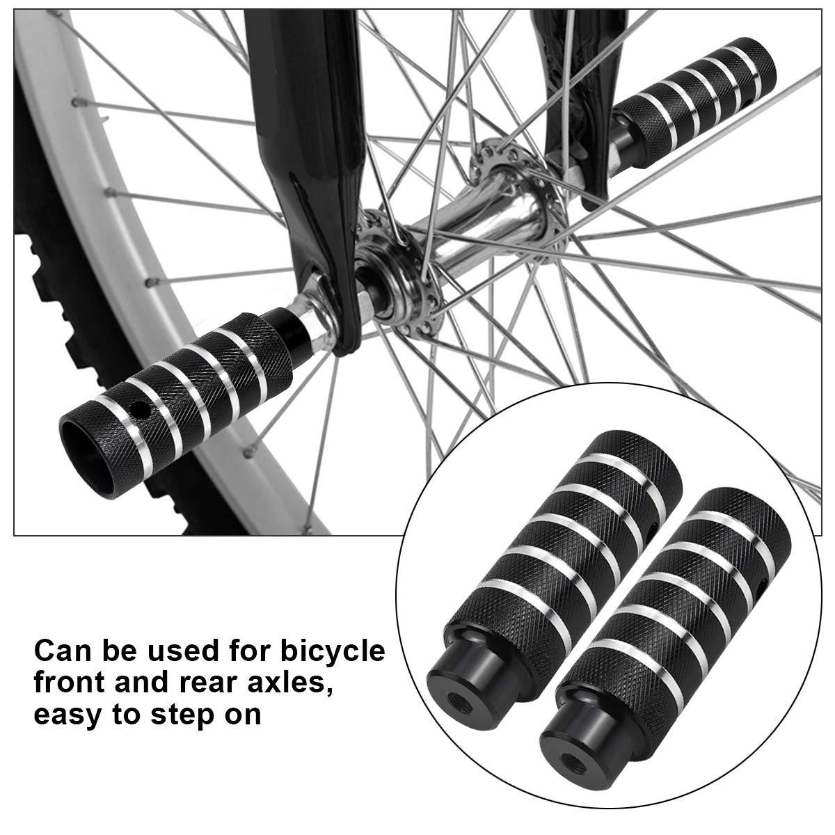 Dokpav 2PCS Pinzas de pie para Bicicleta, Aleación de Aluminio ...