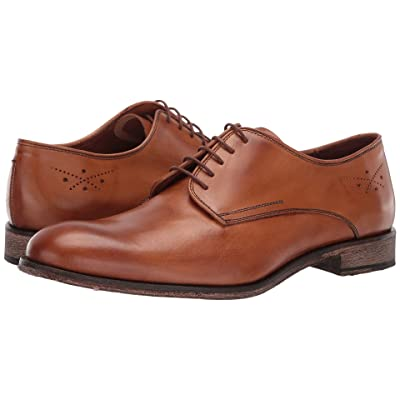 Massimo Matteo 5-Eye Oxford 19 (Burnished Tan) Men