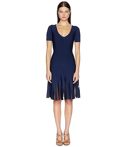 Zac Posen Knit Radiant Stripe Dress