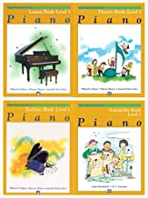 Alfred's Basic Piano Library: Level 3 Books Set (4 Books) - Lesson Book 3, Theory Book 3, Technic Book 3, Notespeller Book 3