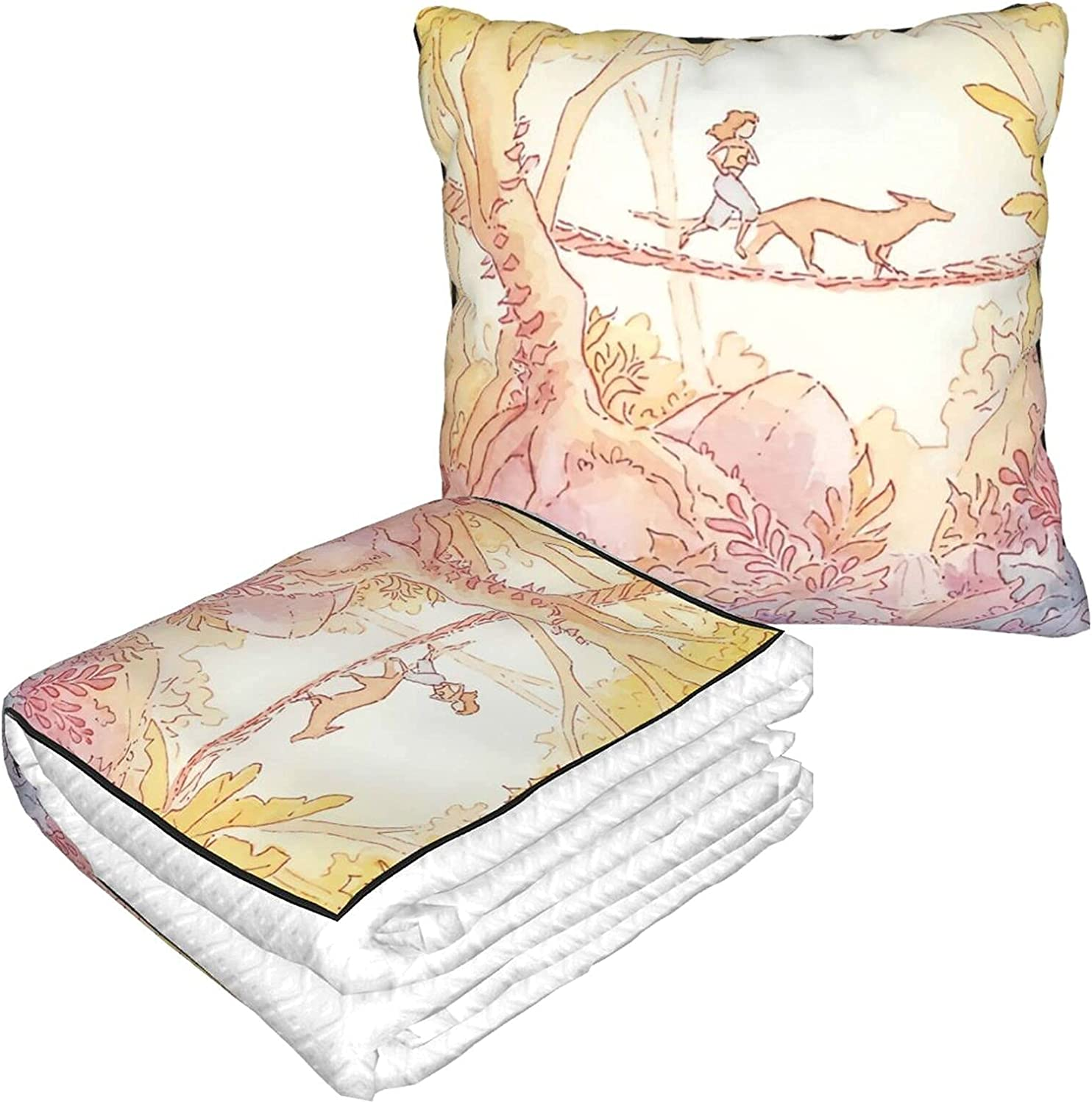 Travel Pillow Now New arrival free shipping Blanket for Airplanes Jungle Soft Pill in 1 Run 2
