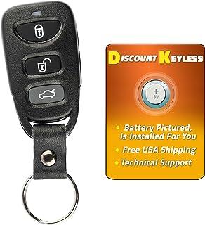 For 11-14 Hyundai Accent 2013-2016 Hyundai Elantra GT Keyless Entry Remote Key Fob TQ8RKE-3F03