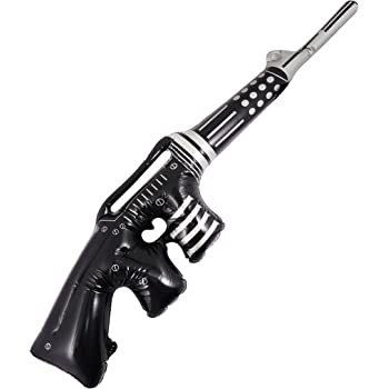 TOMMY GUN INFLATABLE Gangster 1920s 80CM BLOW UP FANCY DRESS PARTY Stag Party