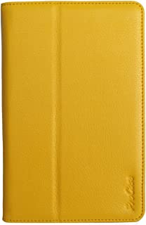ProCase Nexus 7 Slim Leather Folio Cover Case For Google Nexus 7 Tablet with Auto Sleep/Wake (Yellow, Flip Stand Case)