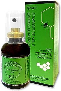 AFC Japan Brazilian Green Propolis Extract with Honey Spray, 25% Propolis Extract (35% Dry Extract), Rich in Flavonoids (>...