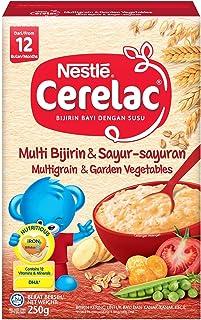 Nestlé Cerelac Baby Food, Multi Grain and Garden Vegetables, 250g