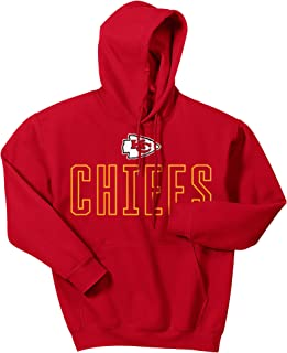 Zubaz Men's Officially Licensed NFL Solid Colored Logo Hoodies