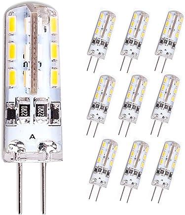 10 Stück Leuchtmittel Philips LED G4 warmweiß 1,2 Watt 12V Lampe Stiftsockel
