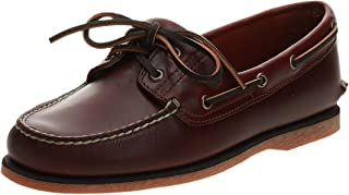 Timberland Classic 2 Eye, Chaussures Bateau Homme, Marron Rootbeer Smooth, 46 EU