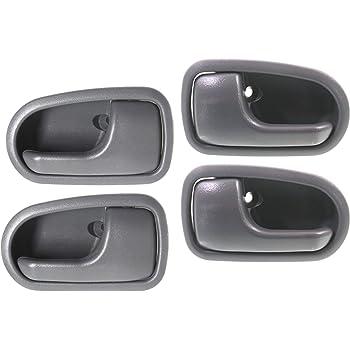 Amazon Com Depo 316 50005 074 Mazda Protege Front Rear Driver Side Replacement Interior Door Handle Automotive