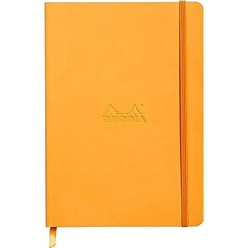ロディア ラマ ソフトカバー ノート A5 横罫 オレンジ cf117415