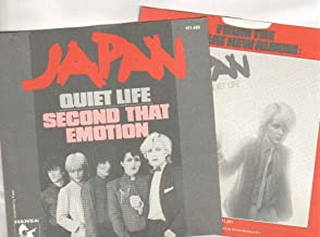 JAPAN - QUIET LIFE / I SECOND THAT EMOTION - 7 inch vinyl / 45