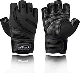 Workout Gloves for Women Men,Training Gloves with Wrist Support for Fitness Exercise Weight Lifting Gym Crossfit,Made of Microfiber and Lycra SMRG902 …