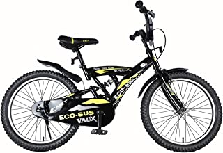 """Vaux Bicycle for Kids- Vaux Eco-Sus Sport 20T Kids Bicycle for Boys. Ideal for Cyclist with Height (3'11"""" – 4'3"""") – Black."""