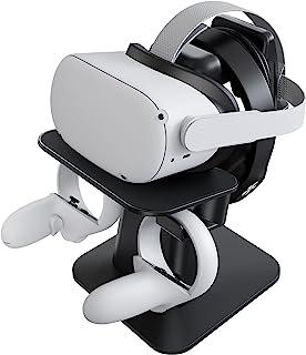 KIWI design Supporto VR, Supporto per Display per Cuffie e Controller per Oculus Quest/Quest 2/Rift/Rift S/HTC Vive/Vive P...