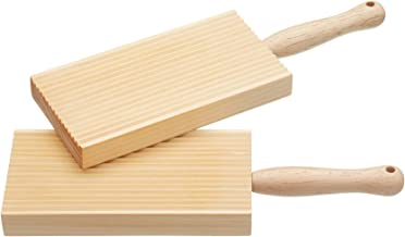 Kitchen Craft Home Made Wooden Butter Paddles / Gnocchi Boards, 20 x 6.5 cm (Set of 2) by KitchenCraft