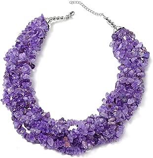 Strand Necklace Black Oxidized Stainless Steel Silvertone Jewelry Size 18