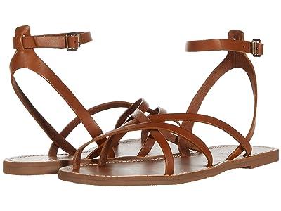 Madewell Boardwalk Skinny Strap Sandal (English Saddle) Women