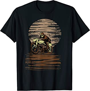 Vintage Classic Racer T-Shirt Motorcycle Cafe Racer