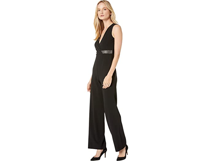New Look Animal Bow Front Jumpsuit Donna