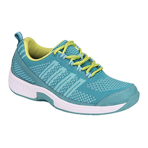 8839887832c9 Orthofeet Women s Plantar Fasciitis Orthopedic Diabetic Walking Athletic  Shoes Coral Sneakers