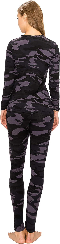 ALWAYS Women's Thermal Underwear Set - Fleece Lined Premium Soft Winter Warm Long Johns Base Layer Thermal Wear