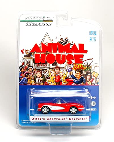 Grünlight Collectibles Hollywood Series 3 Animal House - 1959 Chevrolet Corvette Die Cast Vehicle by Grünlight Hollywood by Grünlight Hollywood