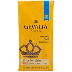 Gevalia Traditional Mild Roast Whole Bean Coffee (12 oz Bag)