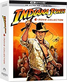 Indiana Jones 4-Movie Collection on 4K Ultra HD for the First Time June 8 from Paramount
