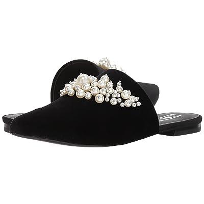 Sol Sana Grace Slide (Black Velvet Pearl) Women