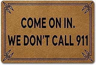 Best we don't call 911 doormat Reviews