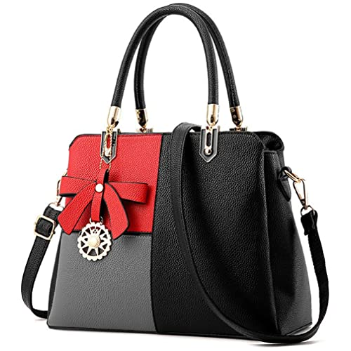 7d7d6713d7 The results of the research red black handbag