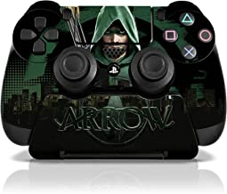 Controller Gear Arrow City Skyline - PS4 Skin Set for Controller and Stand - Officially Licensed By PlayStation and WB - PlayStation 4