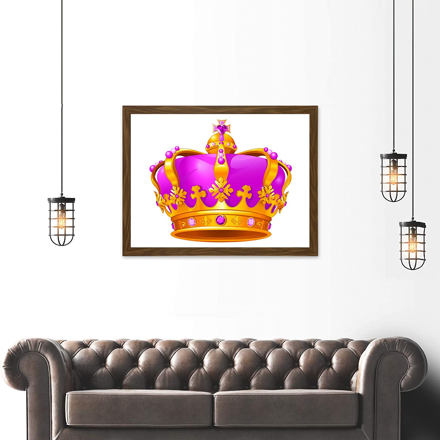 Cartoon Crown Jewels – A monarch may often be shown wearing them in portraits.