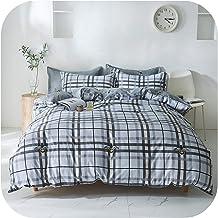 Yellow Lemon Bed Linen Bedding Set boy Girl Home Flat bed Sheet Pillowcase Duvet Cover 3/4pcs Queen King Full Single size-...