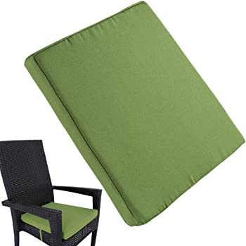 Luxury Tie On Removable Seat Pads Chair Foam Cushion Garden Dining chair Kitchen